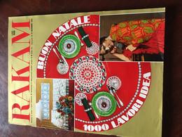 Rakam Rivista Magazine Dicembre 1970 Mensile Di Moda E Lavori Femminili - Unclassified
