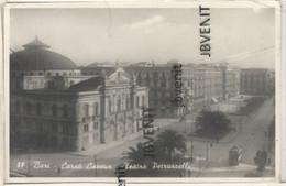 BARI (PUGLIA)- Corso Cavour - Teatro Petruzzelli (fotografia Ed. G. LOBUONO - Bari