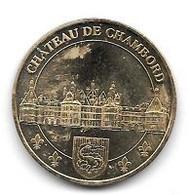 Médaille  Touristique  Ville, CHÂTEAU  DE  CHAMBORD  SALAMANDRE  2009   ( 41 ) - 2009