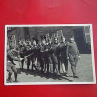 CARTE PHOTO MILITAIRE 1940 SOUVENIR DU BALLET A IDENTIFIER - Regiments