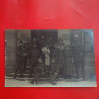 CARTE PHOTO SOLDAT A IDENTIFIER ACCORDEON - Regiments