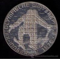 AUSTRIA 1976 - 100 SGHILING DE PLATA - OLYMPIC INSBRUCK - KM # 2928 - Austria