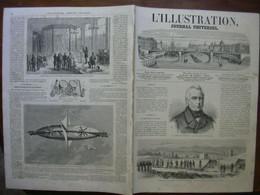 L'ILLUSTRATION 1116 GUERRE SECESSION / CAUCASE / SAXOPHONE / ALGERIE - 1850 - 1899