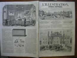 L'ILLUSTRATION 1117 MEXIQUE / TUNIS/ ALGERIE/ OBERLAND - 1850 - 1899