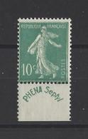 FRANCE. YT   N° 188   Neuf *  1924 - 1906-38 Semeuse Con Cameo