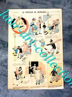 RARE ESTAMPE IMAGERIE PARISIENNE - SERIE E - N°10 LE PORTEUR DE DEPECHES - 40x27cm        (3108) - Stampe & Incisioni