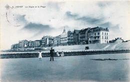 Belgique - Heyst - La Digue Et La Plage - S.B.P. N°5 - Heist