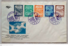 Indonesia 1958 FDC International Letter Writting Week - Indonesia