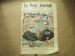 Le Petit Journal / N° 255  - 6 Octobre 1895 / S. M. Léopold Roi Des Belges - S. A. R. Nicolas, Prince... - Riviste - Ante 1900