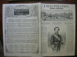 L'ILLUSTRATION 1119 ROI ESPAGNE / ARCACHON/ SALON / ALGERIE / NORMANDIE - 1850 - 1899