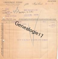 94 1253 IVRY SUR SEINE 1922 Chocolaterie CHOCOLAT VINAY Chocolats Confiserie Dragees Dest COUTIERE - 1900 – 1949