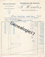 94 1254 VINCENNES SEINE 1921 Broderie Des Vosges F. HEUBES Rue Du Midi - 1900 – 1949