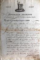 Comte Permon -Komnen ( Сomnen), Ami De Jeunesse De Napoléon. - Autographs