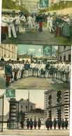HUMOUR - PLAISIRS De La CASERNE - LOT De 5 CPA - - Umoristiche