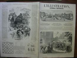 L'ILLUSTRATION 1122 VARSOVIE / INCENDIE LIMOGES / PORTO NOVO ROME/ TOULON - 1850 - 1899