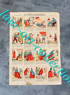 RARE ESTAMPE IMAGERIE NOUVELLE - PLANCHE N°108 : LA PETITE MARGUERITE - 41x29cm        (3108) - Stampe & Incisioni