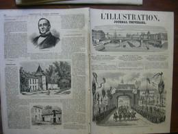 L'ILLUSTRATION 1123 MONTLUCON/ AMSTERDAM / TARBES/ MARSEILLE/ GENEVE/ LA BASTIDE BESPLAS - 1850 - 1899