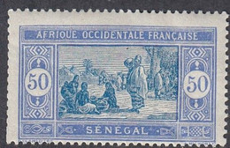 Senegal, Scott #104, Mint Hinged, Preparing Food, Issued 1914 - Neufs