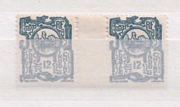 INDOCHINE 1927 TIMBRES N°138 NEUFS AVEC CHARNIERE PAIRE AVEC INTERVALLE - Ungebraucht
