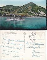 Cartolina Austria : Vienna Döbling Kahlenberg E Leopoldsberg Con Danubio E Kahlenbergerdorf.viaggiata 1958. - Andere