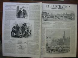 L'ILLUSTRATION 1125 ARRAS/ ALGERIE / PARTHENON/ PATAGONIE / ORANGE / VAUCLUSE - 1850 - 1899