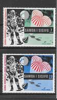 Samoa Série Complète Espace ** - Oceania