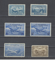 CANADA. YT   PA N° 1-8/12  Neuf **/*   1928-46 - Airmail