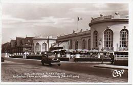 14 Calvados DEAUVILLE - Plage Fleurie. Le Casino Et Hôtel Normandy, Voiture Ancienne - Deauville
