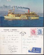 "Cartolina HONGKONG : "" PASSAGGIO A HONGKONG "".viaggiata 1959. - Andere"