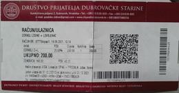 Croatia / Dubrovnik - Entrance Ticket To City Walls - Tickets - Vouchers