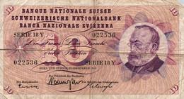 10 FRANCS SUISSE 1960 - Switzerland