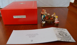 PIXI LE SOUPER D'ASTERIX OBELIX ET DE MANNEKEN Série Spéciale LA MAIN BLANCHE NEUF BOITE D'ORIGINE  CERTIFICAT N°175/550 - Asterix & Obelix