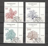 2021   N° 1833 à 1836 OBLITERATIONS PREMIER JOUR   CATALOGUE ZUMSTEIN - Gebraucht