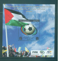 Palestine 2013- FIFA Recognation Of Palestinian Home Ground M/Sheet - Palestine