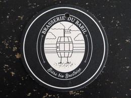 SOUS BOCK BIERE BRASSERIE DU BARIL BIERE BIO BREST FESTIVAL AOUT 2019 PLOUGONVELIN FORT DE BERTHEAUME - Beer Mats
