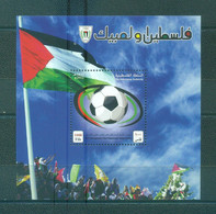 Palestine 2012- FIFA Recognises The Palestinian Home Game M/Sheet - Palestine