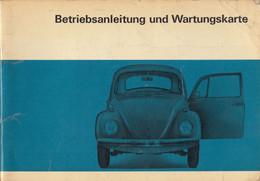 VW Volkswagen 1200 1300 1500 Bug Beetle Kafer Coccinelle Instructions Manuals Book - Cars