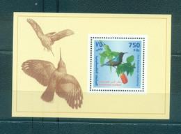 Palestine 1999- Palestine Sunbird  M/Sheet - Palestine