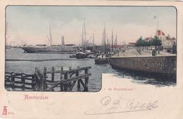 Amsterdam De Ruyterkade Scheepvaart Levendig # 1903   2653 - Amsterdam