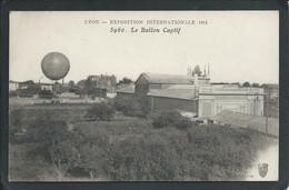 69 LYON  (RHÔNE ) BALLON CAPTIF..  EXPOSITION INTERNATIONALE DE 1914  .... C3961 - Luchtschepen