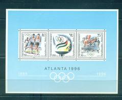Palestine 1996- Olympic Games, Atlanta M/Sheet - Palestine