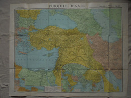 Ancien - Carte Turquie D'Asie Caucase Perse Egypte Cartes Taride Paris - Geographical Maps