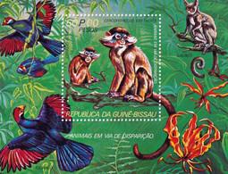 GUINEE BISSAU - Faune, Singe - Y&T BF 14 - MNH - Guinea-Bissau