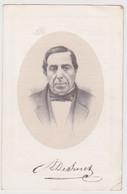 Doodsprentje Schepene Johannes Ludovicus De Smet. °Overmere, +Overmere. Lith. Fl. Van Loo. - Obituary Notices