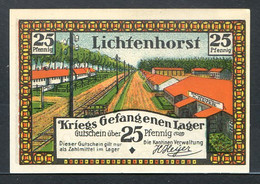 257-Lichtenhorst Kantine H. Meyer 3x25, 2x50, 2x75pf Et 2x1m - Lokale Ausgaben