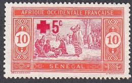 Senegal, Scott #B1, Mint No Gum, Preparing Food Surcharged, Issued 1915 - Neufs