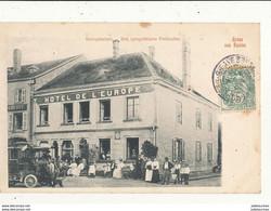67 GRUS AUS SAALES HOTEL DE L EUROPE PROPRIETAIRE PETITCOLIN CPA BON ETAT - Autres Communes
