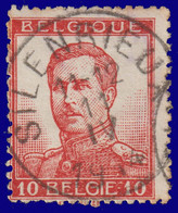 "N°118 - Belle Oblitération ""SILENRIEUX"" - 1912 Pellens"