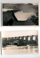 A176d Flutkatastrophe, The North Sea Floods, 1953, Lot Of 2 Original Pictures - Sin Clasificación
