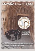 España. Spain. 2021. Patrimonio Inmaterial De La Humanidad. Tribunal De Las Aguas De La Vega De Valencia - 2011-... Nuovi & Linguelle
